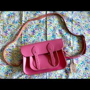 "The Cambridge Satchel Company Pink 11"" satchel"